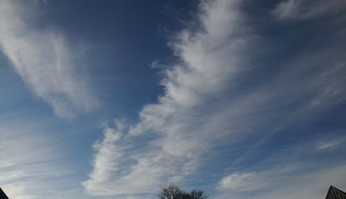 Cirrus-Wolken über Hohn (11)
