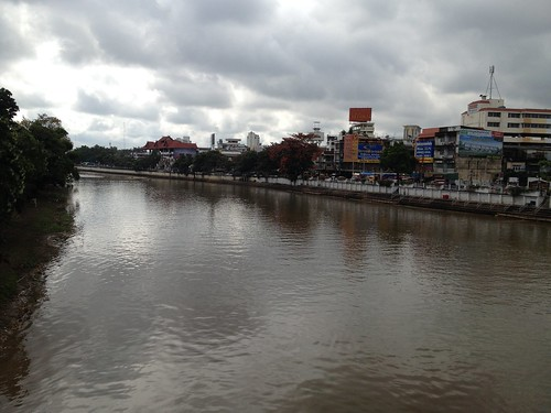 First sight of Chiang Mai upon arrival
