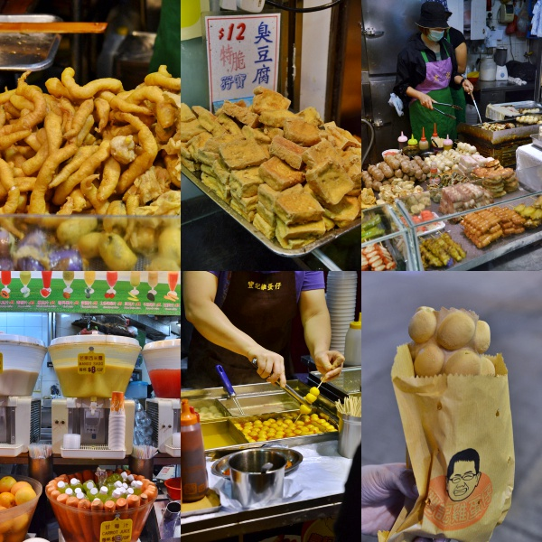 Collage Random Street Food