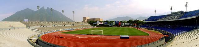 Estadio Tecnológico, Monterrey, México.