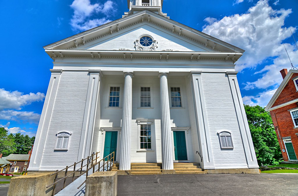 Petersham Town Hall - Petersham Common Historic District - Petersham MA