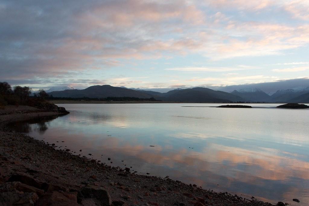Dawn, Loch Linnhe