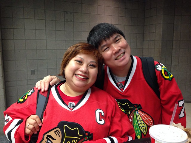 Us at the United Center
