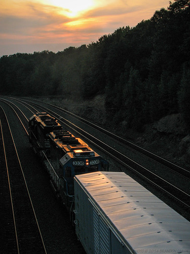 railroad sunset train evening pennsylvania locomotive helpers norfolksouthern pushers cresson nspittsburghline helperset helperengines