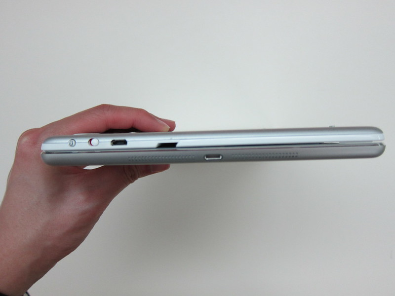 Ultrathin Keyboard Cover - Attached To iPad Air (Thickness)