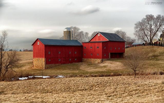 Bank Barn in Waterford, Virginia