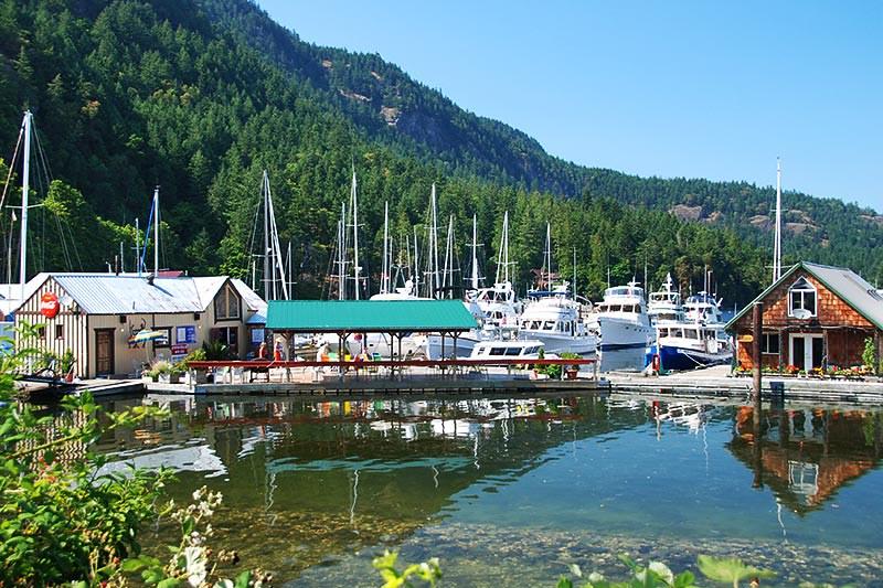 Genoa Bay Marina, Genoa Bay, Cowichan Bay, Cowichan Valley, Vancouver Island, British Columbia, Canada