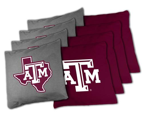Texas am aggies cornhole bags