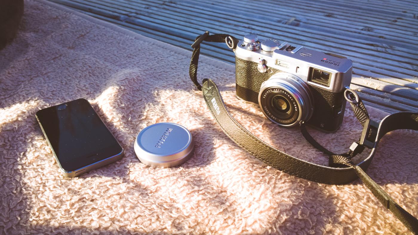 Fujifilm X100S + iPhone5s