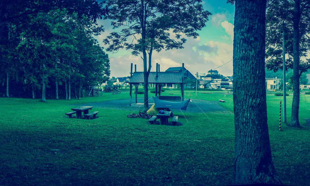 Horonobe Furusato no Mori Campground (Horonobe Town, Hokkaido, Japan)