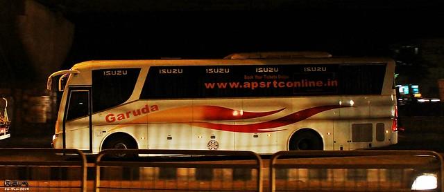 APSRTC Garuda Isuzu Airavat Livery