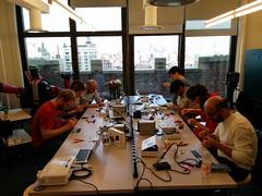 Solder:Time Desk Clock workshop