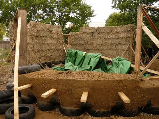 Cob and strawbale