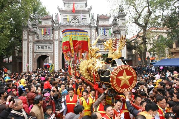 Những lễ hội không thể lỡ ngay sau Tết ở miền Bắc