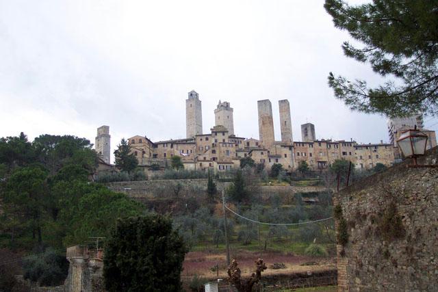 Panorámica de San Gimignano. © Paco Bellido, 2003