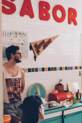 Cozinha do Apartamento 61