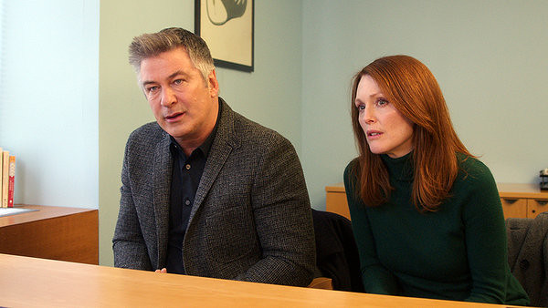 Alec Baldwin and Julianne Moore grapple with early onset Alzheimer's in STILL ALICE.