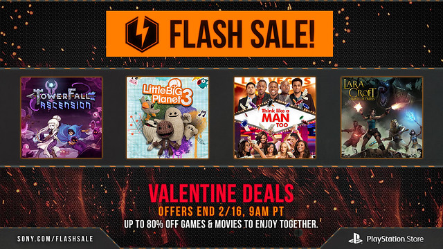 PS Store: February Flash Sale