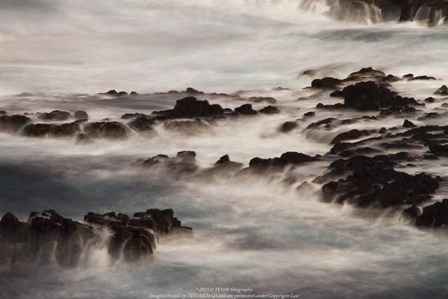 Movimiento sobre mar nuboso