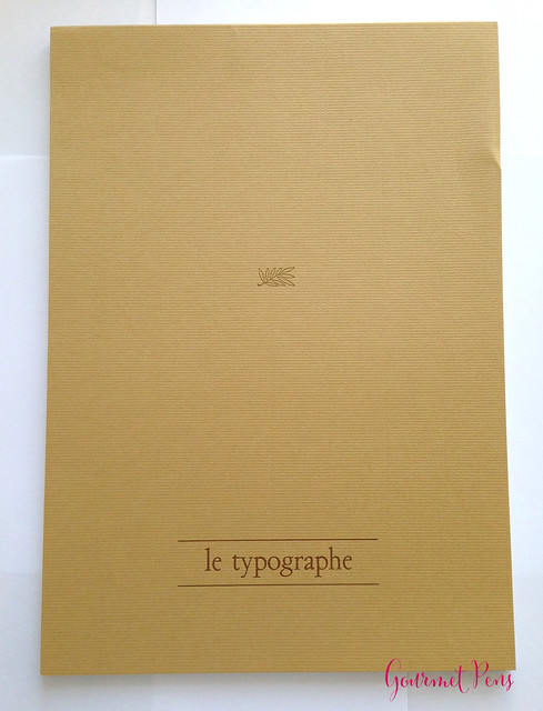 Review Le Typographe Palm Leaf Notepad - A4 Plain @NoteMakerTweets (1)