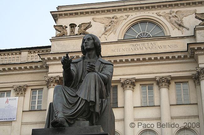 Monumento a Copérnico. © Paco Bellido, 2008