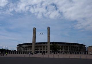 El estadio olímpico de 1936