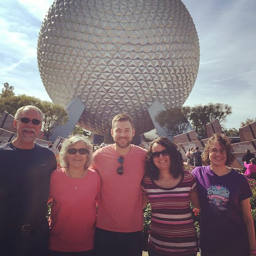 Family Epcot day
