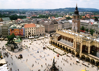 Plaza de Cracovia.