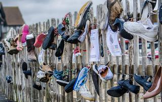 Shoe Protest
