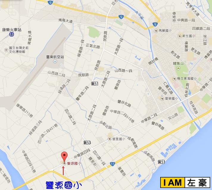 丰源小学地图