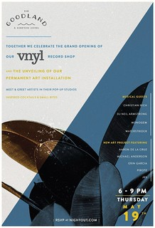 5/19 - The opening of vnyl Record Shop @ The GoodLand Santa Barbara