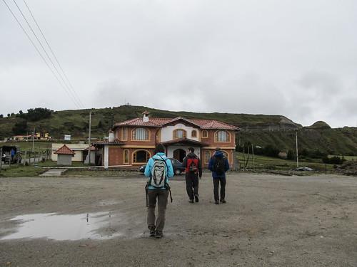 Quilotoa: notre hôtel