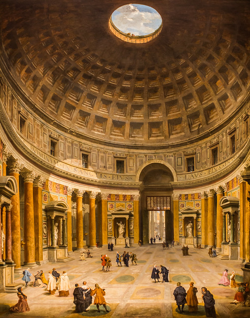 View of the Interior of the Pantheon