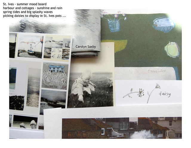 St. Ives mood board