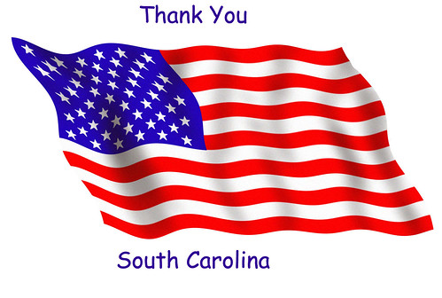 Thank You South Carolina for Voting RIGHT