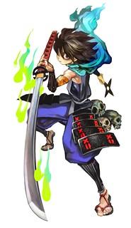 Muramasa Rebirth on PS Vita: Kisuke