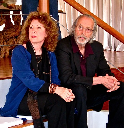 Lani Hall and Herb Alpert at Awards Ceremony