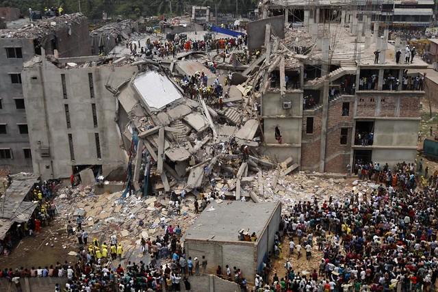 Savar Building Collapse. Source: Flickr/Rijans