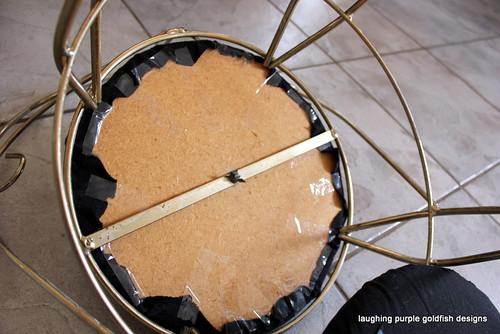 Revamping the old dresser  stool