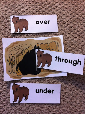 Going on a Bear Hunt Activity (Photo from Rockabye Butterfly)