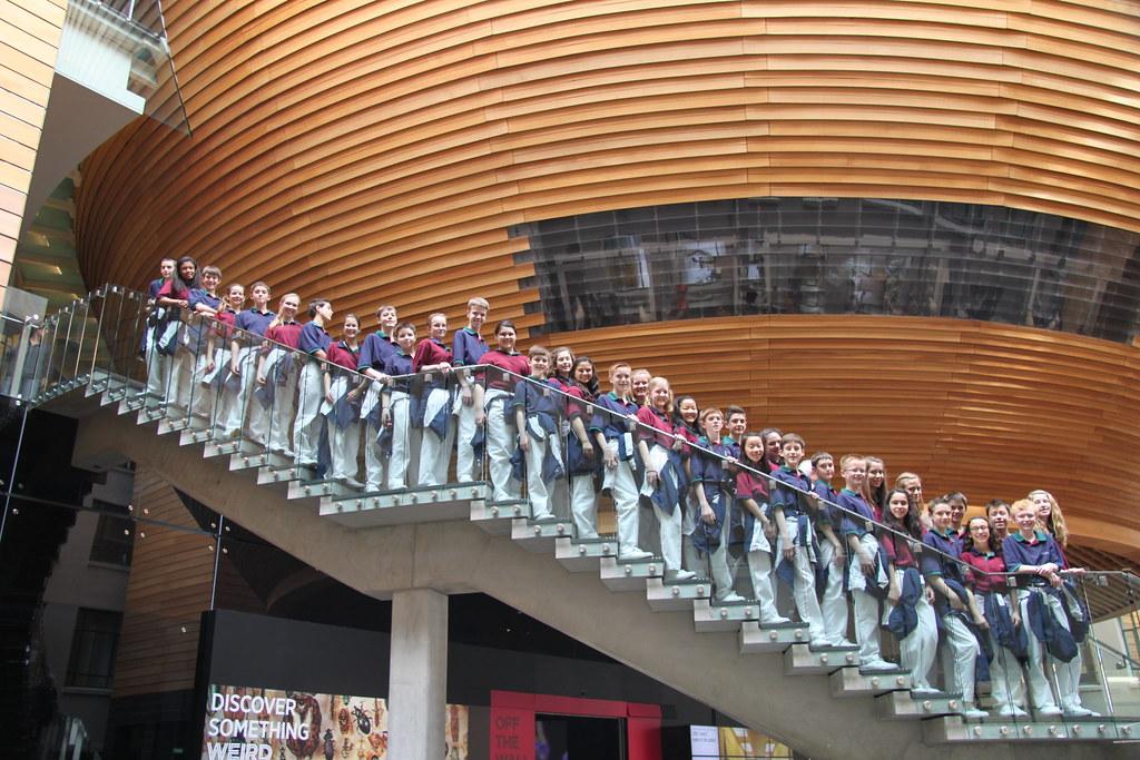 Colorado Children's Chorale at Auckland Museum