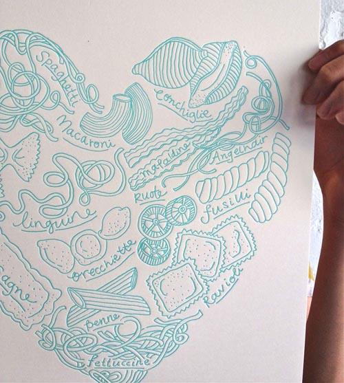 Dawn Tan - pasta print 3