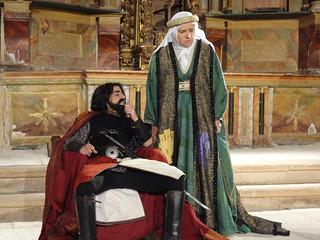 Representaciones teatralizadas en pueblos del norte de Segovia.