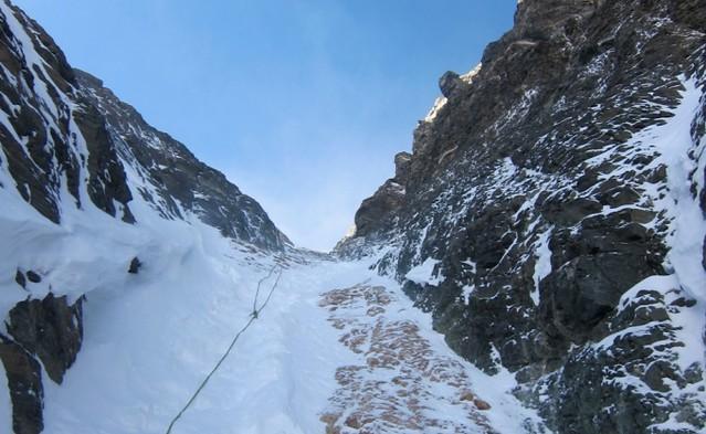 Το κουλουάρ του Lhotse! © Alpenglow Expeditions