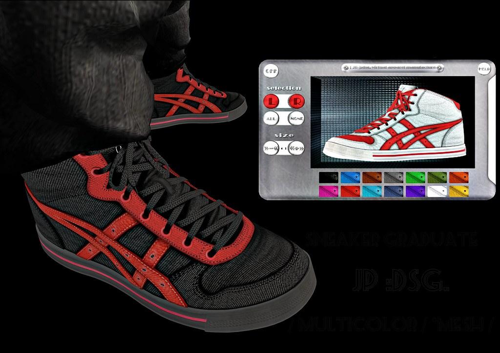[ JP ]:dsg. Sneaker Graduate