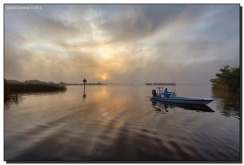 morning sun fog clouds sunrise reflections river boat florida puntagorda mangroves fishingboat peaceriver gonefishing boatramp channelmarker singleexposure harbourheights publicboatramp canonef1635mmf28liiusm harbourheightspark adobelightroom41 charlotteco