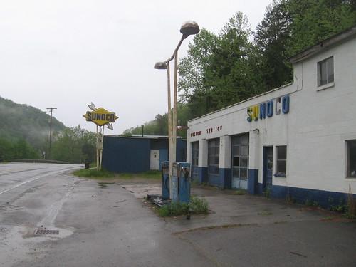 abandoned gasstation wv westvirginia sunoco mingocounty 2013