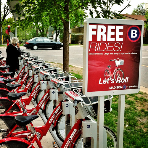 Madison B-Cycle: Eat Your Heart Out, New York!