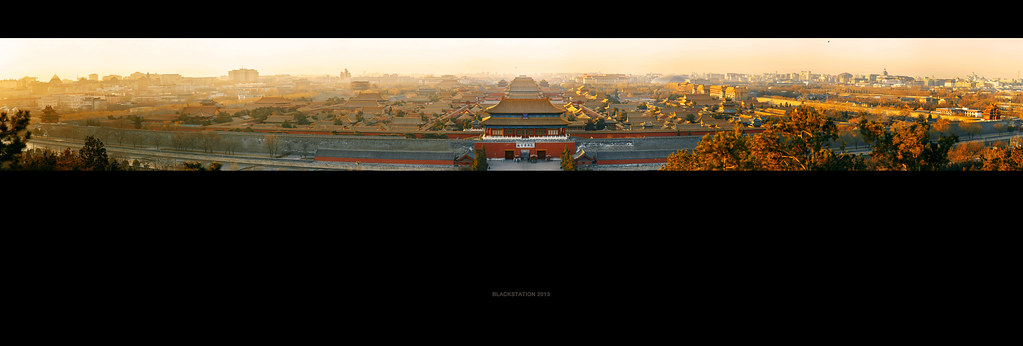 故宫全景  /  the panorama of the Palace Museum
