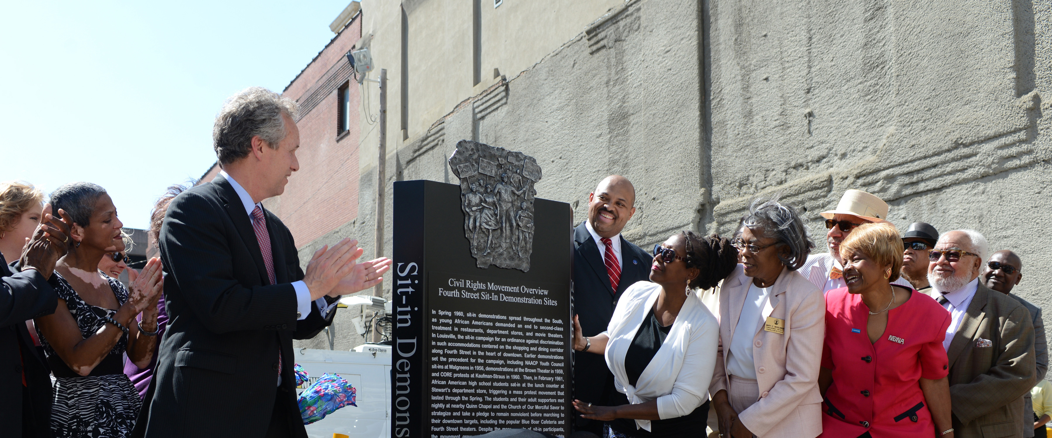 UofL helps mark civil rights history, May 15, 2013